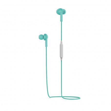 Auricolari Stereo Bluetooth Pantone - Ciano