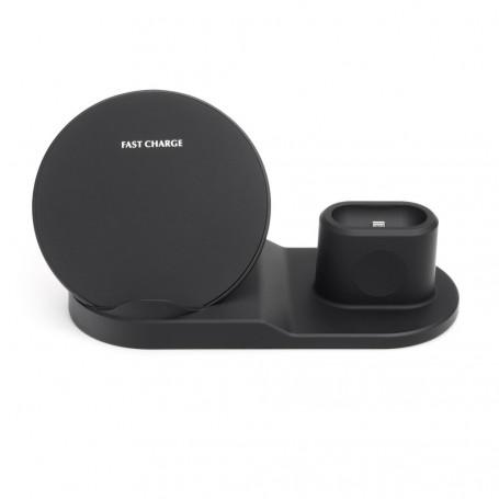 Caricatore Induzione Wireless Qi 10W (telefono + supporto)