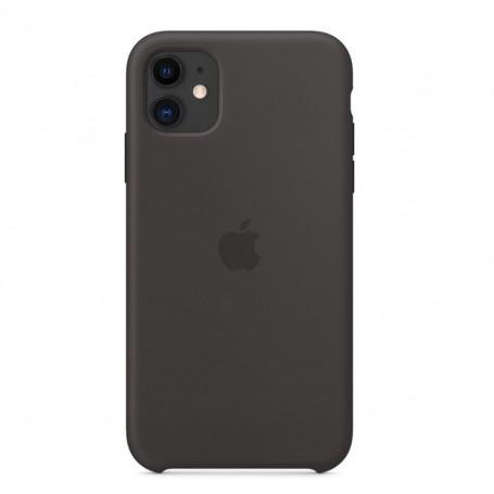 Custodia Apple Silicon Case Black Iphone 11