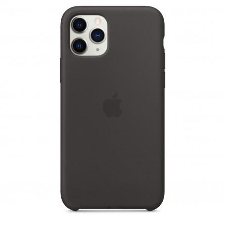 Custodia Apple Silicon Case Black Iphone 11 Pro