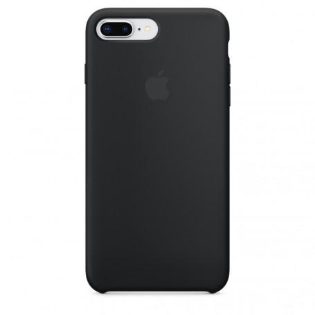 Custodia Apple Silicon Case Black Iphone 8 Plus