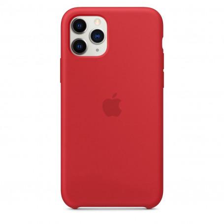 Custodia Apple Silicon Case Red Iphone 11 Pro
