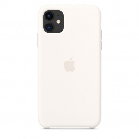 Custodia Apple Silicon Case White Iphone 11