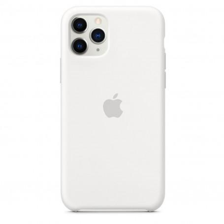 Custodia Apple Silicon Case White Iphone 11 Pro