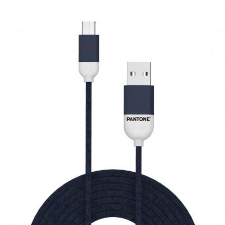 Cavo Micro-USB Pantone 1.5 mt - Blu Navy