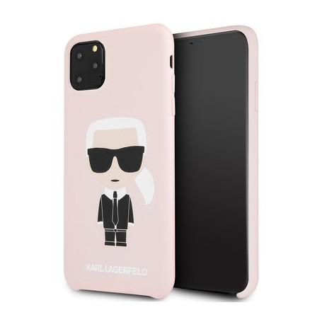 Custodia KARL LAGERFELD KLHCN65SLFKPI iPhone 11 Pro Max - ROSA