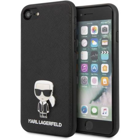 Custodia KARL LAGERFELD KLHCI8IKFBMBK iPhone 7/8 - NERO