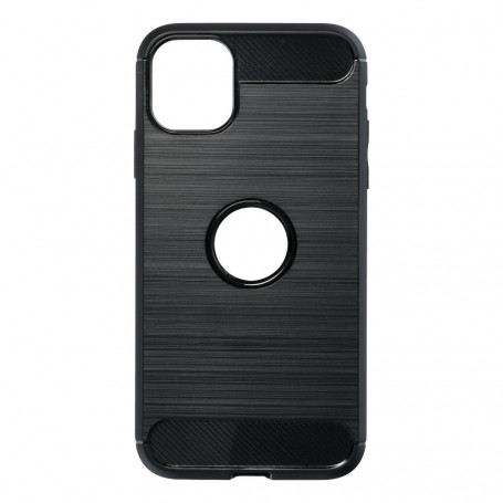 Custodia FORCELL Carbon per iPhone 11- NERO