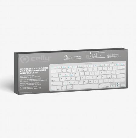 Wireless Keyboard Silver